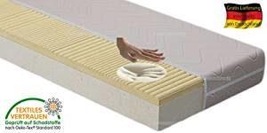 HALMAR Orthopädische 7 Zonen Taschenfederkernmatratze mit Visco-Auflage